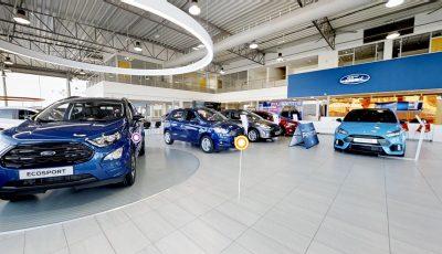Ford Auto Dealership 3D Model