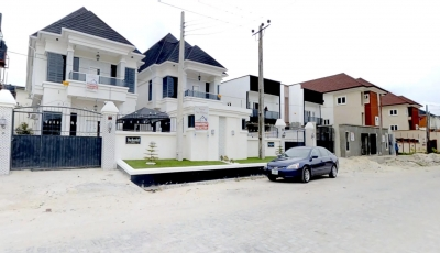 5 BEDROOM DETACHED DUPLEX AT BAMIDELE ELETU, OSAPA, LEKKI 3D Model
