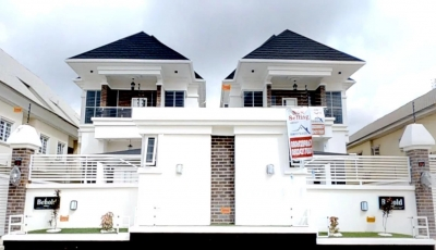 5 Bedroom Detached Duplex at Demola Eletu, Osapa, Lekki 3D Model