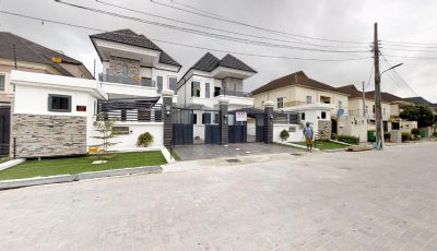 Off Chevron Drive, Lekki 3D Model
