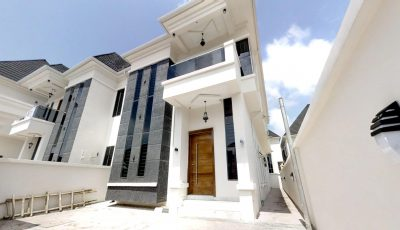 4 Bedroom Detached Duplex – Chevron, Lekki 3D Model