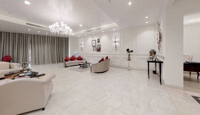 Ultra Luxury 4 Bedroom Apartment With 3 BQ 3D Model