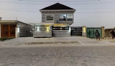 Massive Fully Detached 5 Bedroom Duplex, Jakande, Lekki 3D Model