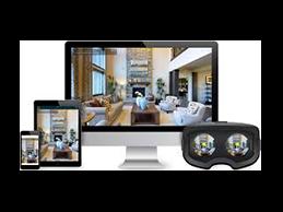 transparent virtual tour media