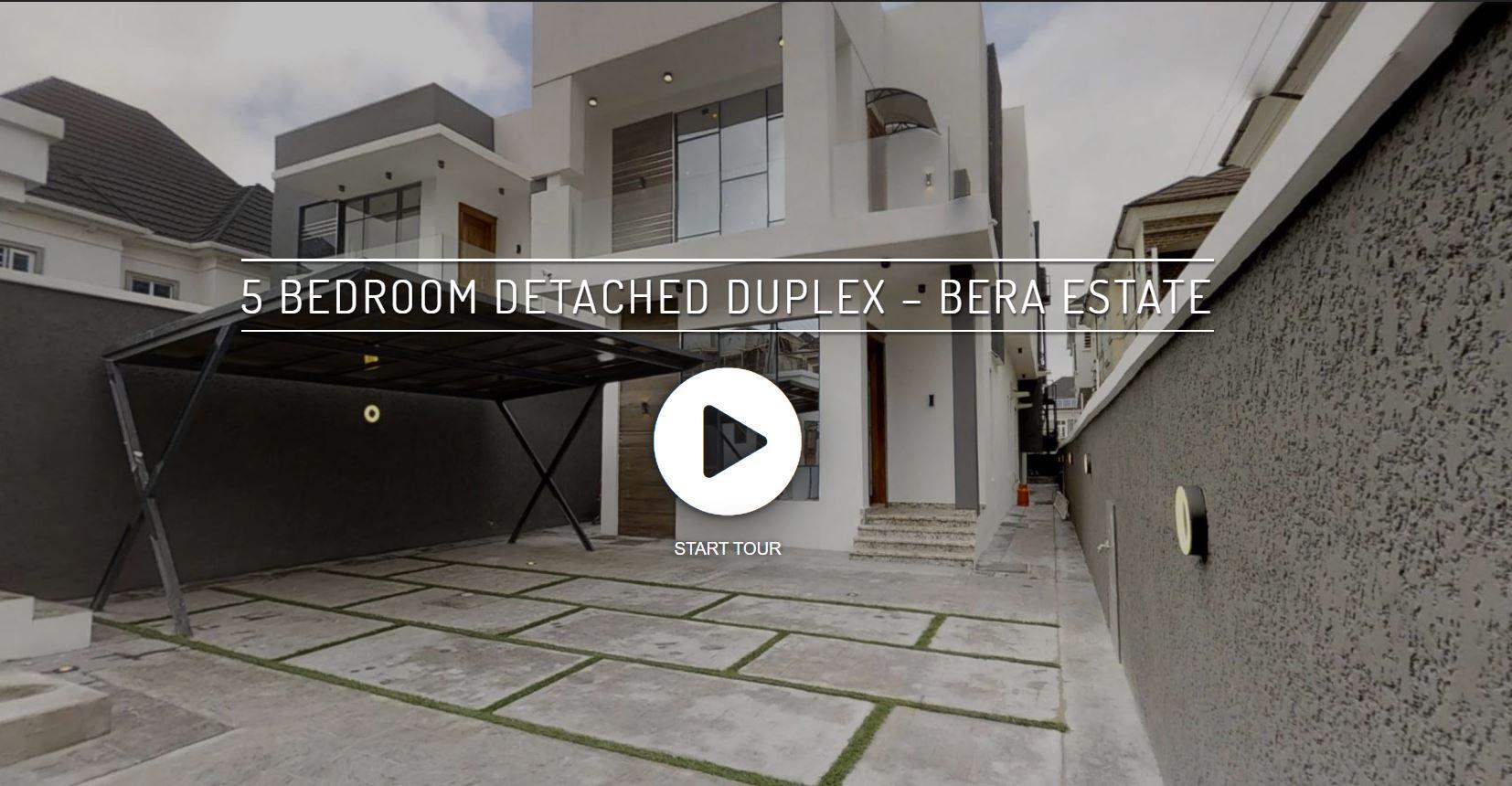 5 Bedroom Duplex Bera Estate