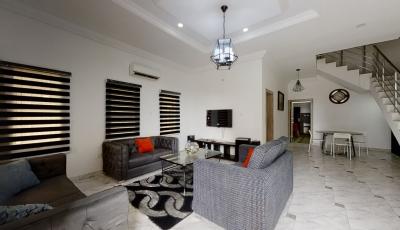 4 Bedroom Semi-Detached Duplex, Forte Contempo, Ajah 3D Model